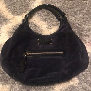 Dark blue Kate Spade bag